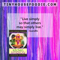 Live simply 2