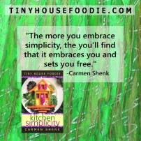 simplicity embraces you and sets you free